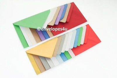 "C6 114mm x 162mm Soft Blue 100 gsm envelopes FREE p/&p for 6/"" x 4/"" cards"