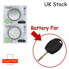 2 X Maxell Cr2032 Battery 3v For Ford Focus Mondeo Fiesta Key Fob