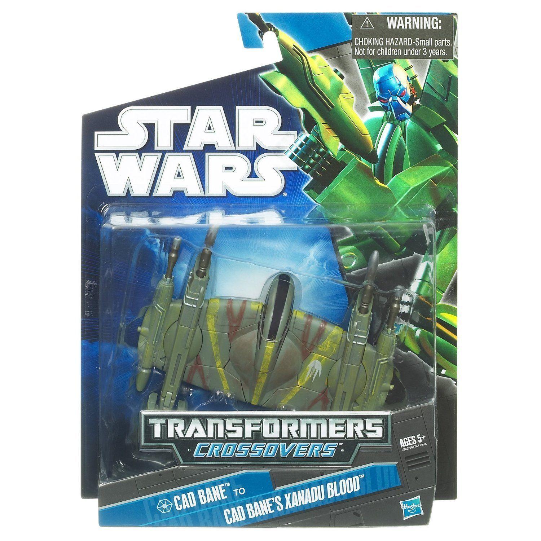 Star Wars Transformers Frequenzweichen Cad Bane zu Cade BANE'S Xanadu bluet