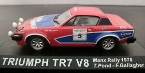 1-43-TRIUMPH-TR7-V8-MANX-RALLY-1978-T-POND-SIN-BLISTER-IXO-ALTAYA-ESCALA