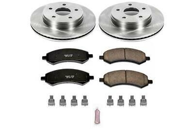 Powerstop Brake Disc and Pad Kits 4-Wheel Set Front /& Rear New for KOE2303