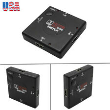 HD 1080P 3 Port HDMI Switch Video Splitter Amplifier for HDTV DVD PS3 Xbox 360