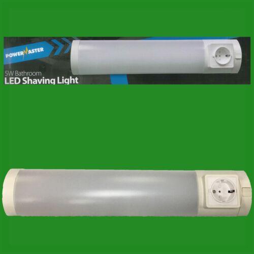 5W Bathroom LED Shaving Light Lamp 400 Lumens 4000K Cool White for Zone 3 Bulb