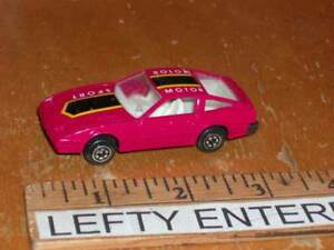 1985 Red NISSAN 300ZX TURBO Motor Sport Car Scale 1/64 - LOOSE!- NO ...
