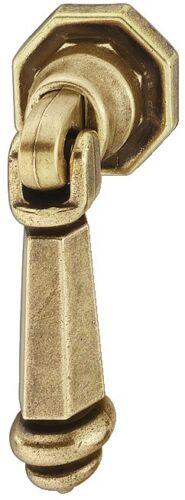 Cabinet Furniture Drop Pull Ring Handle Zinc Antique Bronze Brass Knob