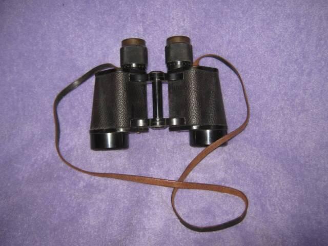 L@@K VINTAGE Carl Zeiss Jena DELACTIS 8 x 40 Binoculars ~ MANUFACTURED 1921-1936