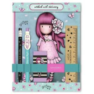 Gorjuss Santoro set notebook penna matita Cherry Blossom 602GJ10