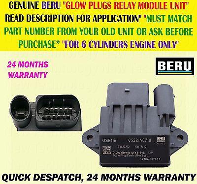 Glow Plug  Relay Unit Mercedes Vito OM642 Engines Genuine Mercedes Part