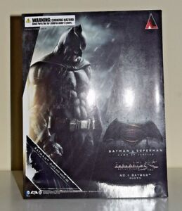 Batman Play Arts Kai Batman v Superman Dawn of Justice Square Enix B&W SDCC 2016