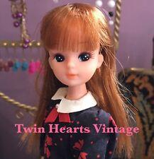 Vintage 80s Third Generation Licca-chan Rika Doll Takara Japanese