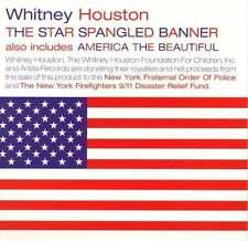 Star Spangled Banner [Single] by Whitney Houston (CD, Sep-2001, Arista) NEW