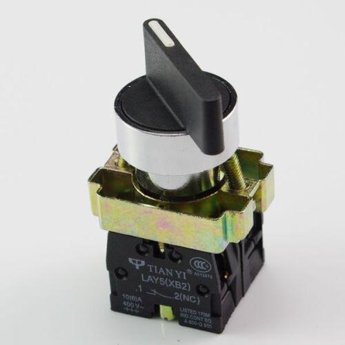 Lote 4 xb2bj25c S/o N/c 2 posiciones mantenidas Extendida Palanca Interruptor De Selector