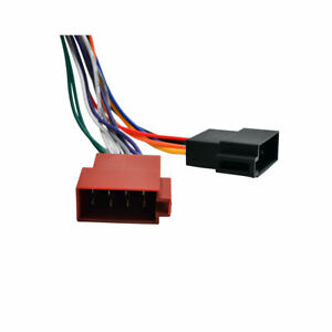image is loading kenwood-car-stereo-radio-iso-wiring-harness-connector-