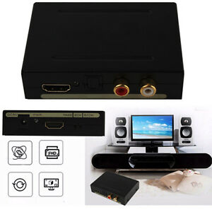US-EU-HDMI-a-optico-SPDIF-RCA-LED-R-Extractor-Convertidor-Separador-Audio