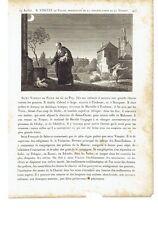 """1825 Vite dei Santi: San Vincenzo de Paoli """"Saint Vincent de Paul"""" (Pouy–Parigi)"""