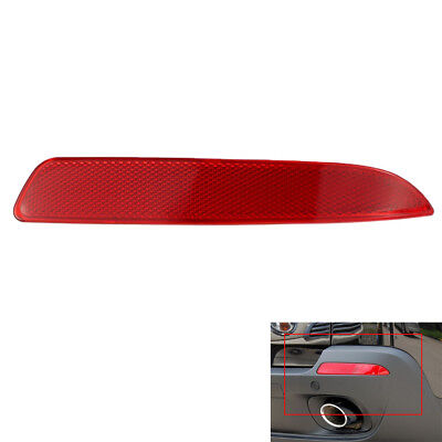Red Rear Right Side Bumper Reflector Lens For BMW X5 E70 2007-13 63217158950 USA