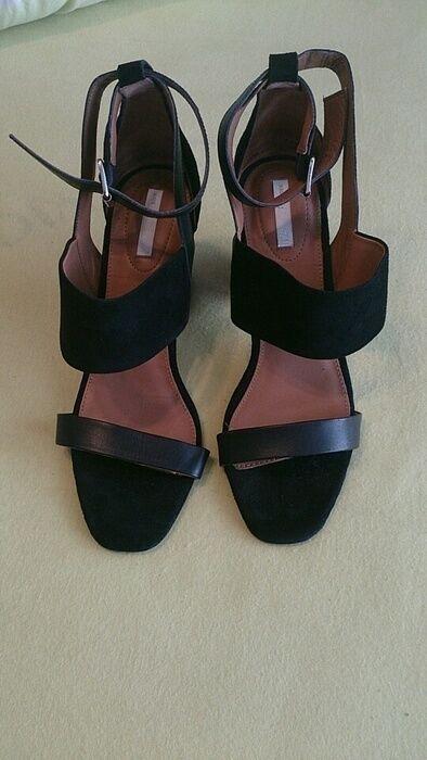 H&m colección premium sandalias de cuero 40 antelina