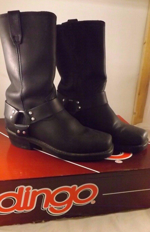 DINGO Arnés Negra para Hombre botas De Trabajo  EB05
