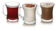 Nuevo Conjunto De 6 Vasos Té Café Cappuccino Tazas De Vidrio De Bebida Caliente Tazas Regalo