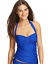 Tommy-Bahama-Womens-Halter-Cup-Tankini-Top-Surf-Blue-Large thumbnail 1