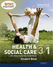 BTEC Entry 3/Level 1 Health and Social Care Student Book by Jade Roots, Linda Winter, Lynda Tann (Paperback, 2010)