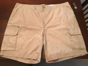 SONOMA MENS CLASSIC CARGO SHORTS BELTED CHARCOAL GRAY SZ 46 48 50 NWT $60