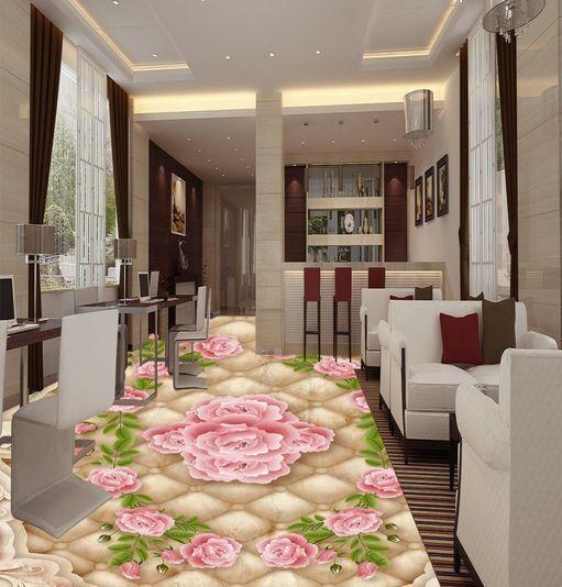 3D Dream Pure Flower Floor WallPaper Murals Wall Print Decal 5D AJ WALLPAPER
