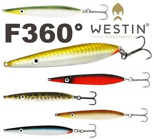 Westin-Bass-Sea-Trout-Fishing-Lure-Sandeel-Salt-Eel-Seeker-26g-F360-Lures-Pike