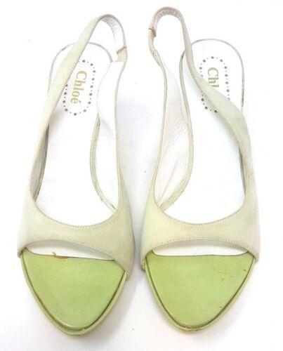 Chloe Factory Eur 37 4 Campione Dim Sandal C29 Uk FF5wqr1gx