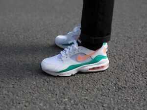 24dc03988c Men's Nike Air Max 93 White/Crimson Bliss Size 9 - 306551 105 | eBay