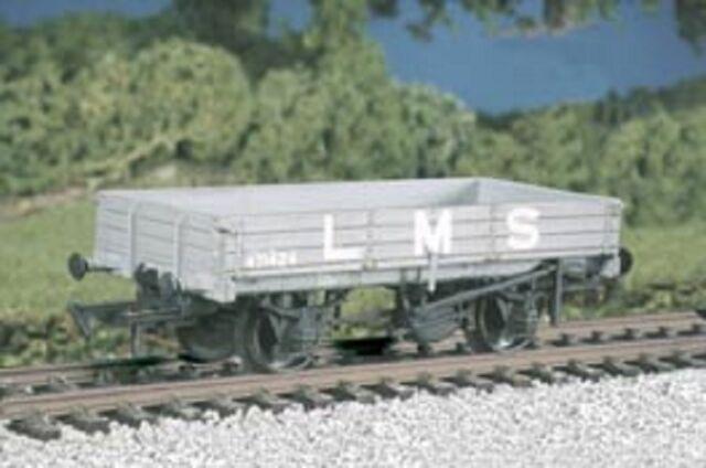 RATIO 573 OO SCALE LMS 3 Plank Medium Open Wagon