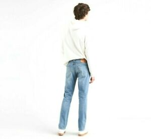 New Levis Mens Lot 511 2153 Flex Light Blue Stretch Slim Fit Denim Jeans 32 x 30