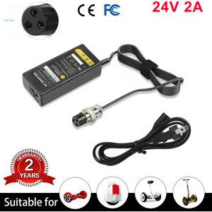 28V Battery Charger For Razor E300 E100 E125 E150 E175 E500 Electric Scooter USA