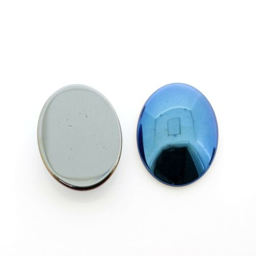 6 Colours to choose from Hematite Cabachons Oval 4 Size Options