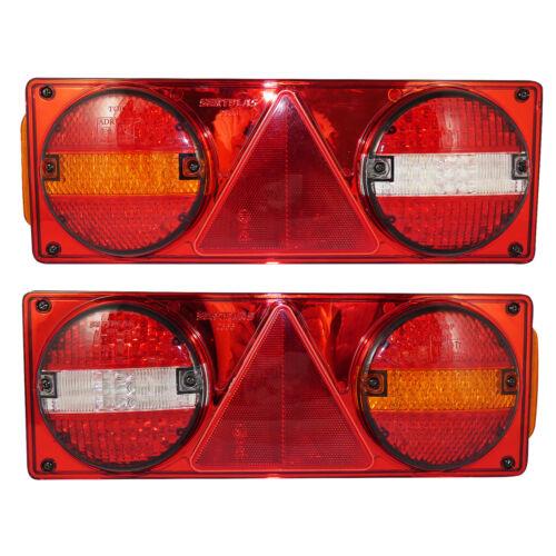 LED-Rücklichter Kombinations- Rückleuchten Heckleuchten für Anhänger  LKWs,24V