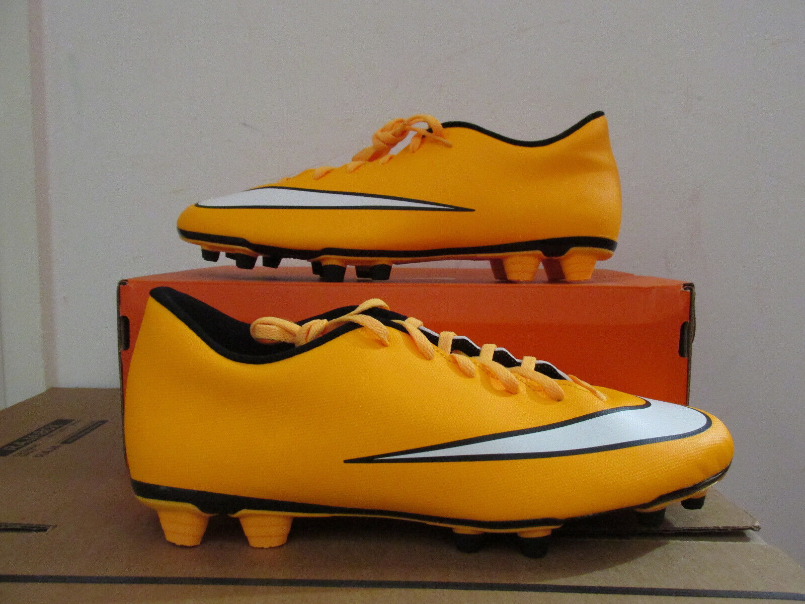 Nike mercurial vortex FG football boots 651647 800 soccer firm CLEARANCE