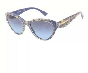 7e86669c234 Image is loading Dolce-amp-Gabbana-Sunglasses-NIB-DG4199-27508F-Leaf-