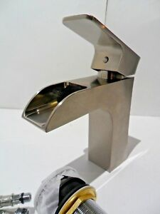 Details About Yosemite Home Decor Single Handle Faucet W Drain Brushed Nickel Yph2494vf Bnwd