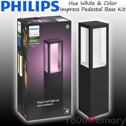 Philips Hue White /& Color Ambiance Impress Outdoor Pedastal Base Kit LED 8W IP65