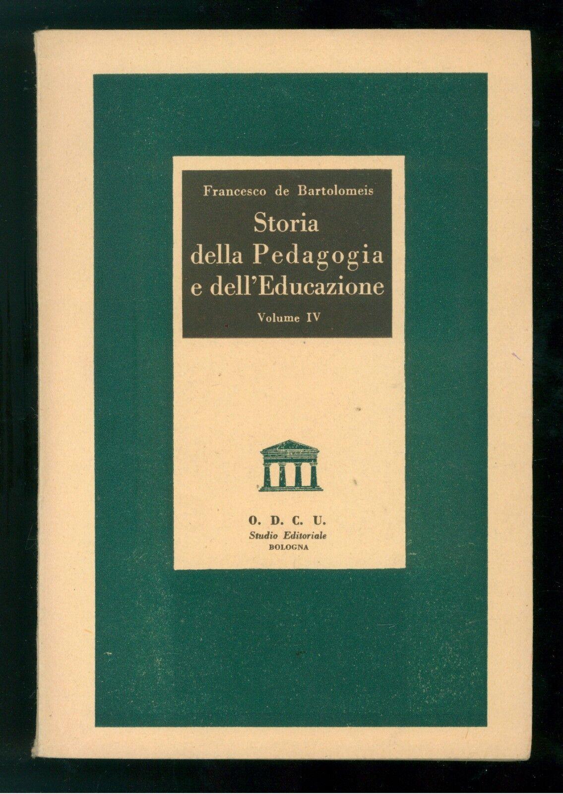 Lotto Autori Vari Enciclopedia di Pedagogia (O.D.C.U.)