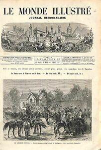 Grande Revue Porte de Boulogne MARECHAL MAC- MAHON GRAVURE ANTIQUE PRINT 1874 - France - ATTENTION, QUE LA COUVERTURE, PAS LE JOURNAL ENTIERJUST A COVER, NOT A NEWSPAPER ANTIQUE PRINTGRAVURE 100 % DÉPOQUE 1874 PORT GRATUIT EUROPE A PARTIR DE 4 OBJETS BUY 4 ITEMS AND EUROPE SHIPPING IS FREE Il s'agit d'un fragment de page originale a - France