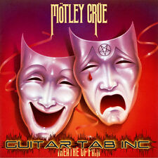 Motley Crue Digital Guitar Tab THEATRE OF PAIN Lessons on Disc Mick Mars