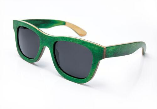 Women Men Wooden Bamboo Sunglasses Handmade Wood  Polarised Lens Cap