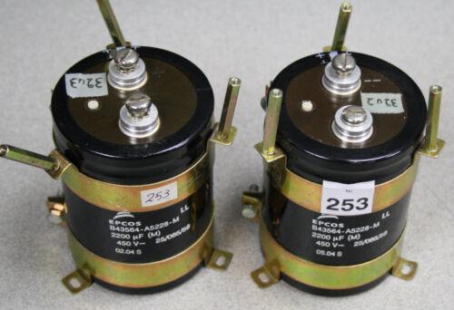 Epcos 2200 uf 450V B43564-A5228-M