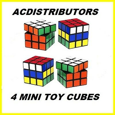 Toy Puzzle Mini Rubiks Cube - Game - Fun Party Prizes,Kids,Adults,Stress Release