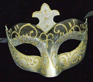 Venetian Masquerade Party Eye Mask Samba Black /& Gold