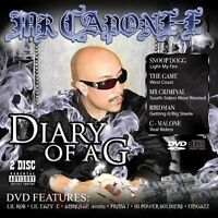 Mr. Capone-e - Diary Of A [new Cd] Explicit, With Dvd on Sale