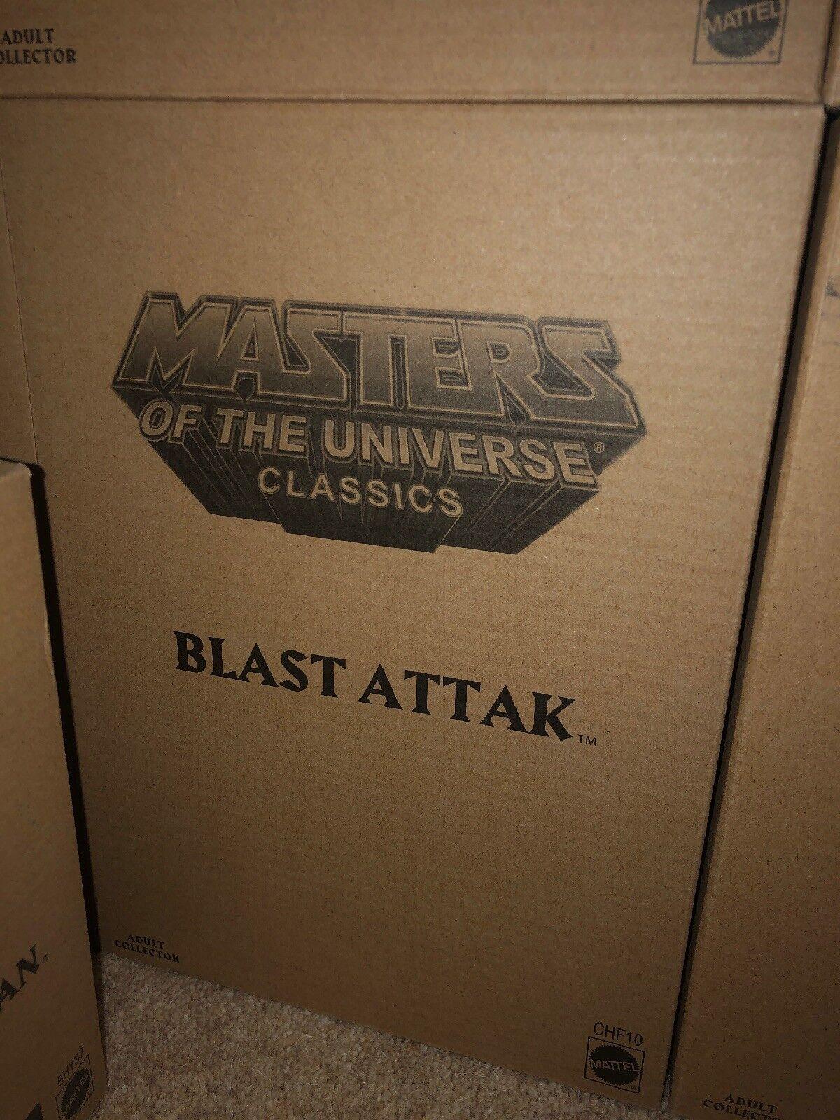 Mattel MoTuc Masters of the Universe Classics BLAST ATTAK He -Man Skeletor