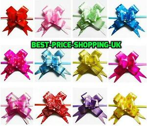 30mm Pull Organza Bows - Large - Wedding Car Decoration Gift Wrap Floristry Bow