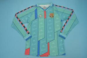 FC-Barcelona-1996-1997-away-long-sleeve-shirt-camiseta-futbol-GUARDIOLA-RONALDO